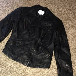 Leather jacket XS